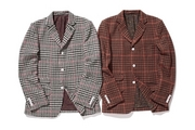 GLEN CHECK TWEED MODERN JKT