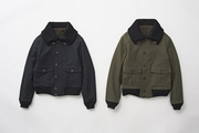 KNIT CHINO FLIGHT JKT