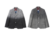 GRADETION GLEN CHECK TAILORED JACKET