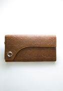 Flap Vine Long Wallet