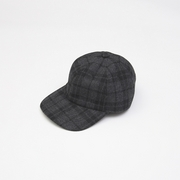 CHECK FLANNEL LOW CAP