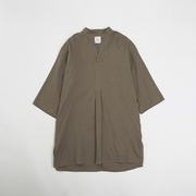 LONG PULLOVER GAUZE SHIRTS