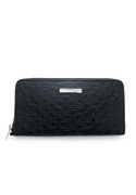 G Pattern Zip Long Wallet