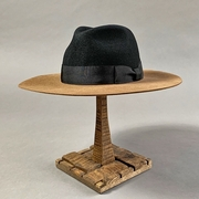 2TONE WIDE BRIM HAT