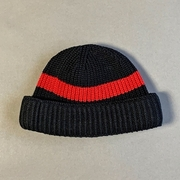 COTTON KNIT ROLL CAP