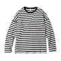 BIAS CUT STRIPE CREW写真1