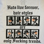 Hats live forever T-SHIRTS写真3